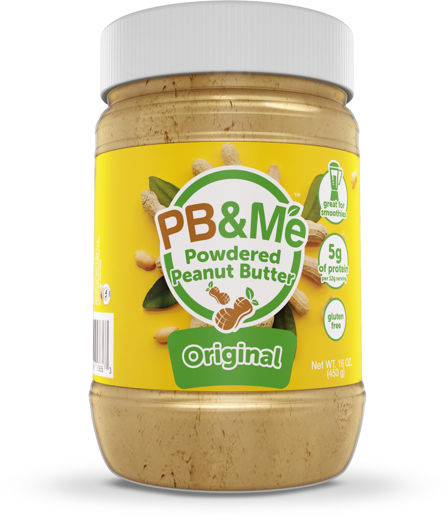 PB&Me - Powdered Peanut Butter - Original (1LB)