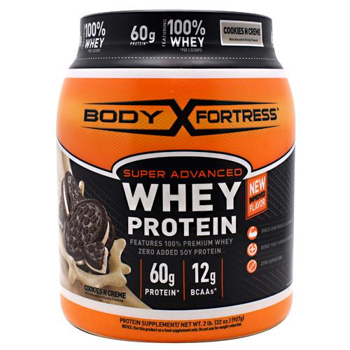 [priduct_vendor]-Body Fortress Super Advanced Whey Protein Cookies N Creme - 2lb-Internal Xposure, LLC