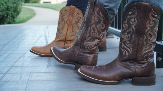 Tucking Jeans into Cowboy Boots