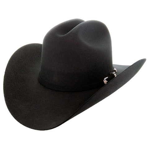 Wool Felt Cowboy Hat | Handmade Wool Hat-Joan (100X)