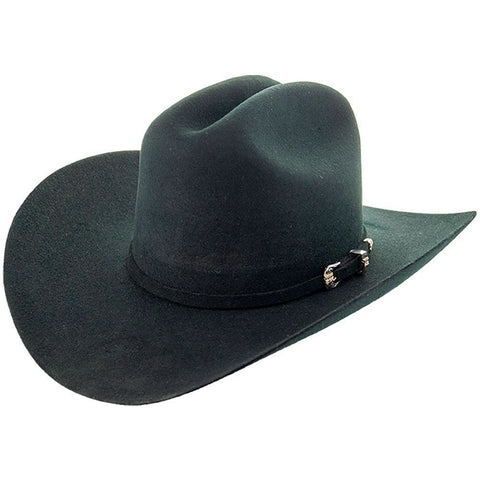 Soto Boots 100X Felt Hat-Larry Black