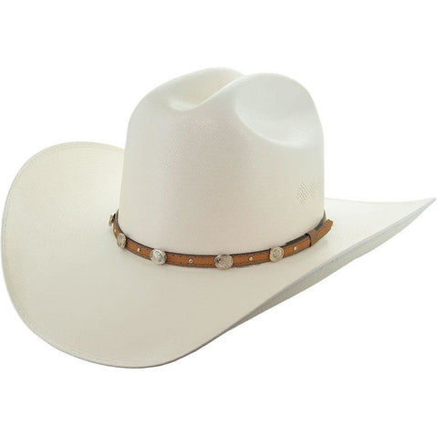 Soto Boots 50X Straw Cowboy Hat- S106 with Brown Band Main