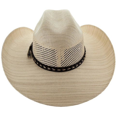 Soto Boots 50X Straw Cowboy Hat- S102 Back