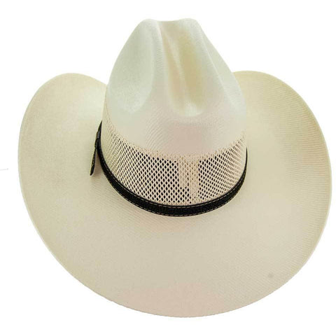 Soto Boots 50X Straw Cowboy Hat- S104 Back