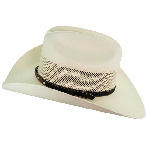 Soto Boots 50X Straw Cowboy Hat- S104 Side