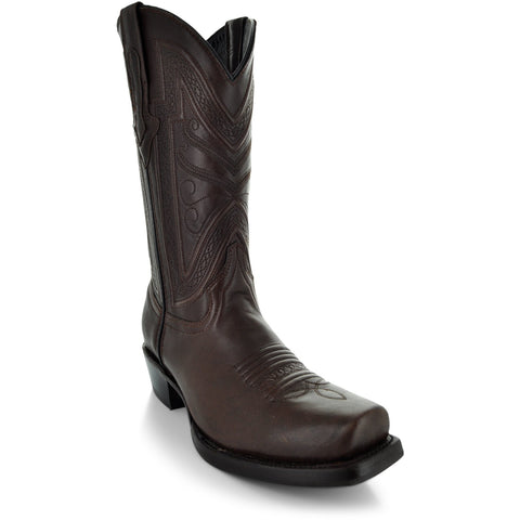 Soto Boots Brown Square Toe Boot H50029