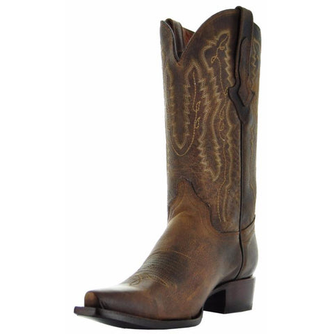 Soto Boots Laredo Cowboy Boots-Brown