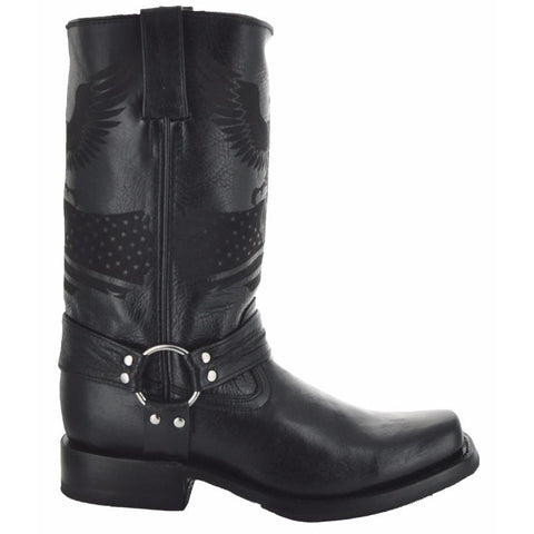 Eagle Rider Men's Leather Biker Boots (H50021) - Soto Boots