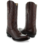 Main Picture of Mens Cowboy Boot H7001 in Brown