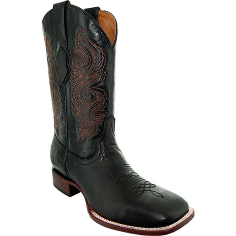 Parker Men's Broad Square Toe Cowboy Boots H9001