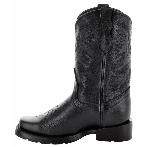 Square Dance Kids' Western Boots-Black