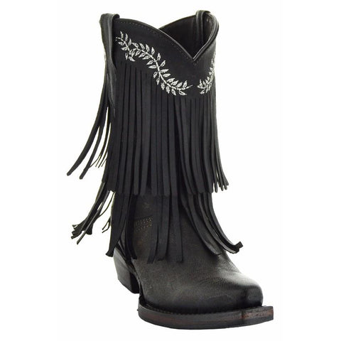 Little Cowgirl Girl's Fringe Boots