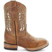 Country Wonder KidsÕ Everyday Tan Country Boots by Soto Boots K3007