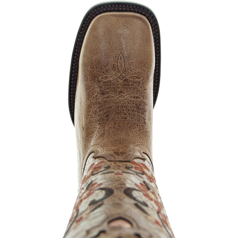 Floral Passion WomenÕs Embroidered Cowgirl Boots by Soto Boots M4002