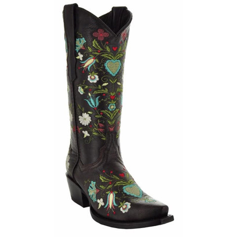 b14bef21e4e Wildflower Women's Embroidered Cowgirl Boots M50030