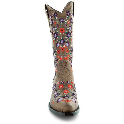 Soto Boots Floral Fantasy Cowgirl Boots