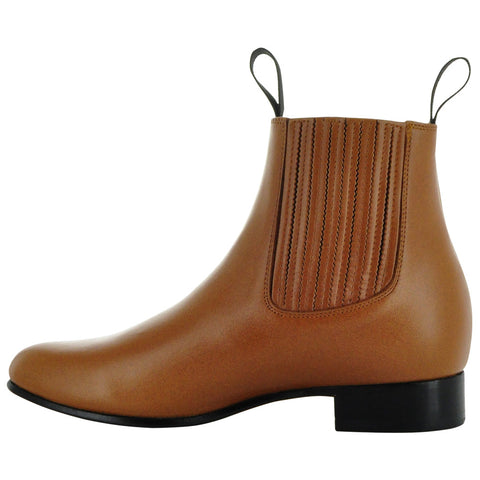 Botin Vaquero | Men's Leather Cowboy Ankle Boots (700) - Soto Boots