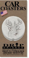 Deer Car Coasters