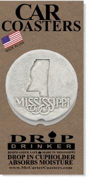 Mississippi Car Coasters