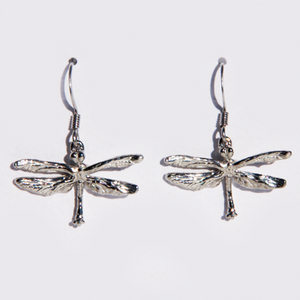 Maurice Milleur Dragonfly Earrings, Small