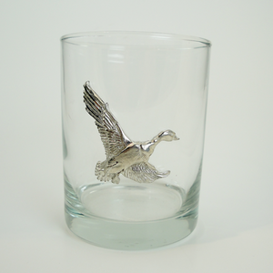 Maurice Milleur Duck Double Old Fashioned Glasses