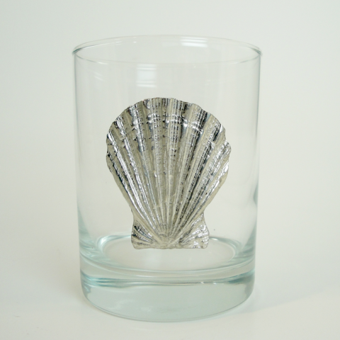 Maurice Milleur Scallop Double Old Fashioned Glasses