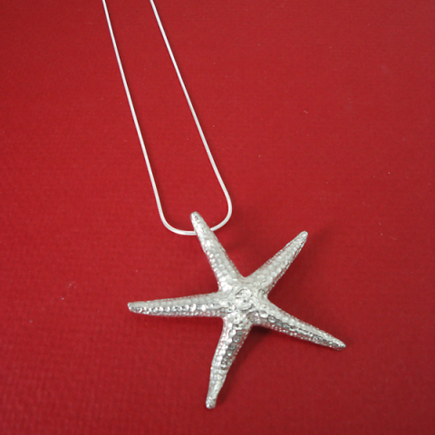 Maurice Milleur Starfish Chain Necklace