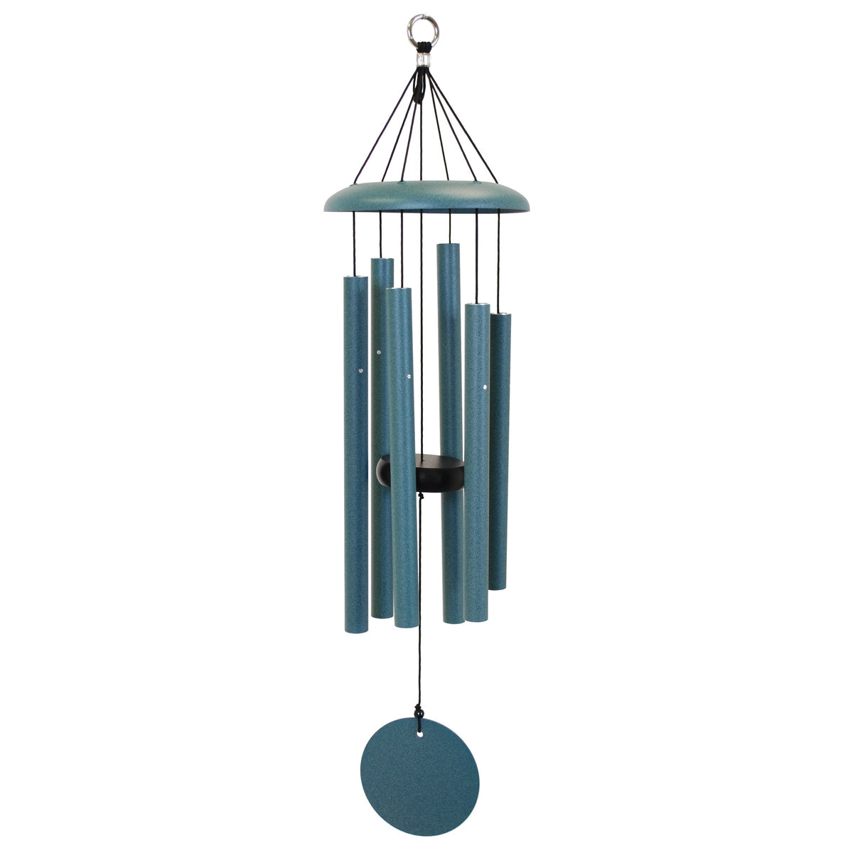 "Corinthian Bells 27"" Chime Patina Green Windchime"
