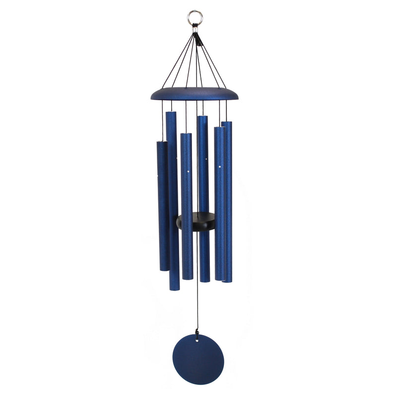 "Corinthian Bells 30"" Chime Midnight Blue Windchime"