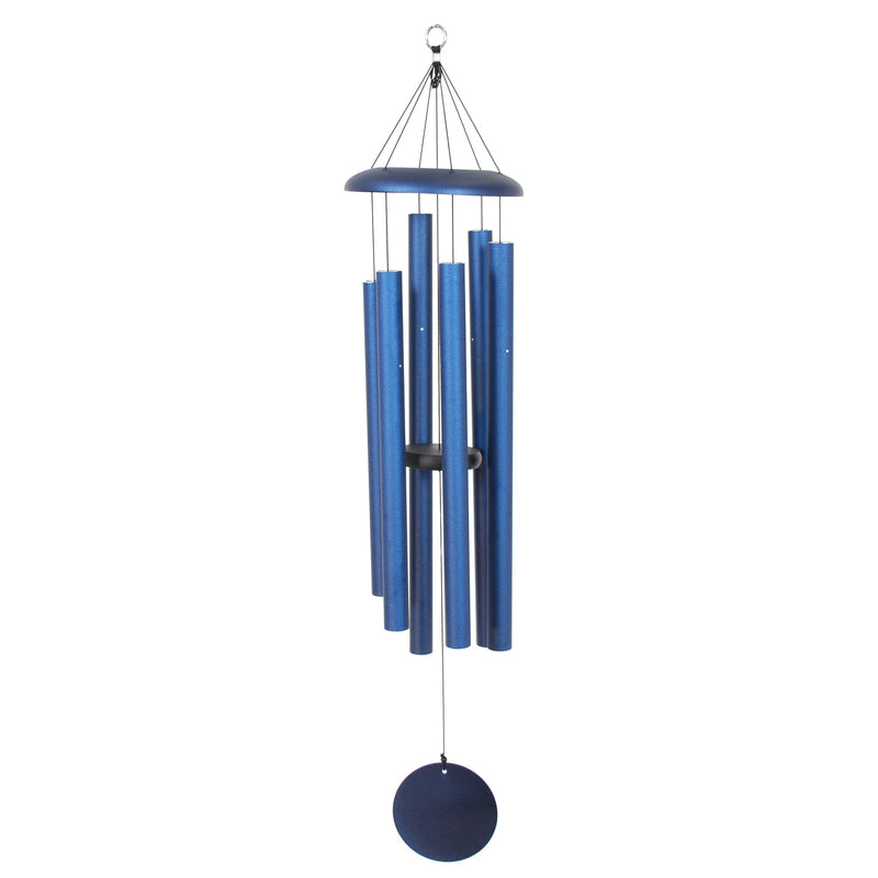 "Corinthian Bells 44"" Chime Midnight Blue Windchime"