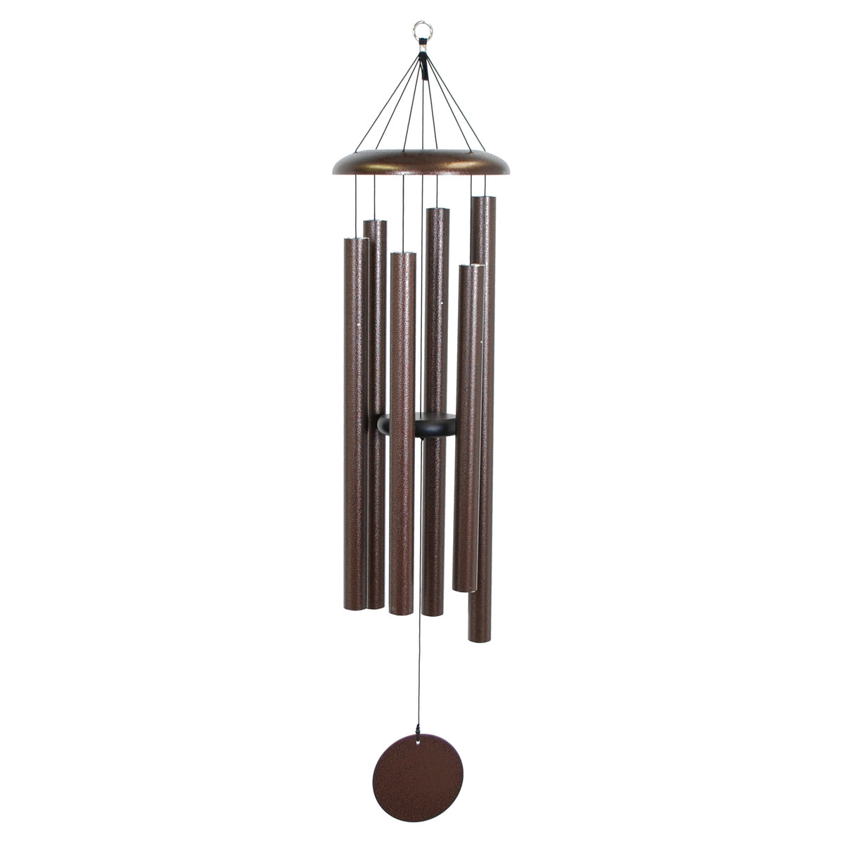 "Corinthian Bells 50"" Chime Copper Vein Windchime"