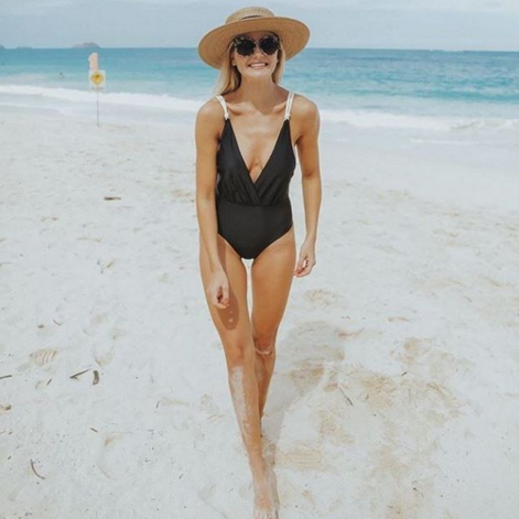 Shop Black Twine One Piece