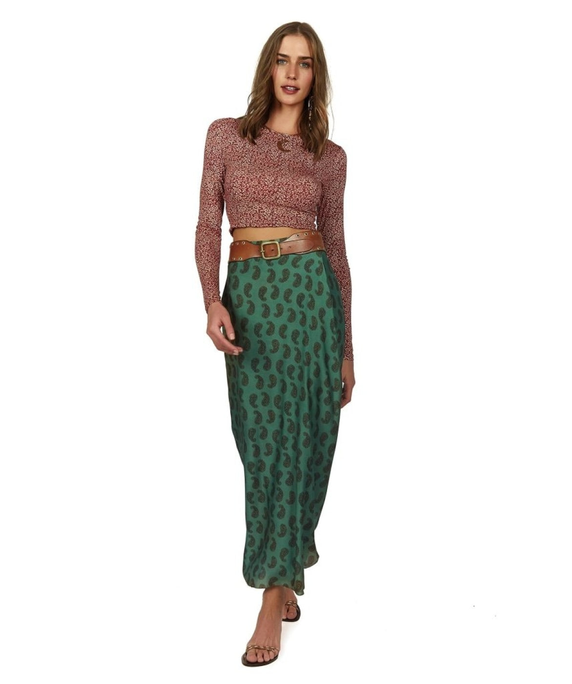 Cashmere Dora Long Skirt