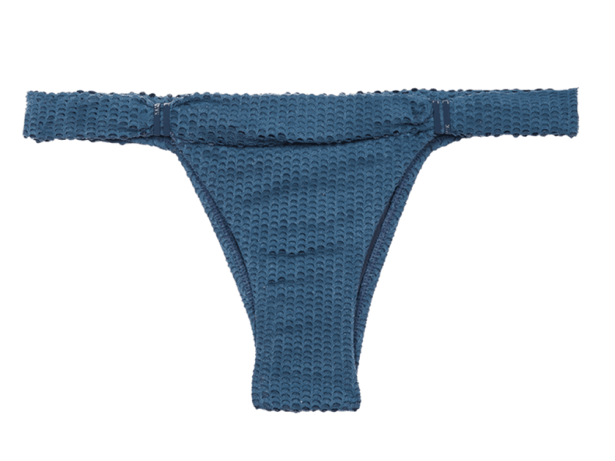 Blue Grey Scales Bia Tube Bottom