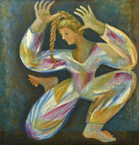 Dancing Girl with Braid
