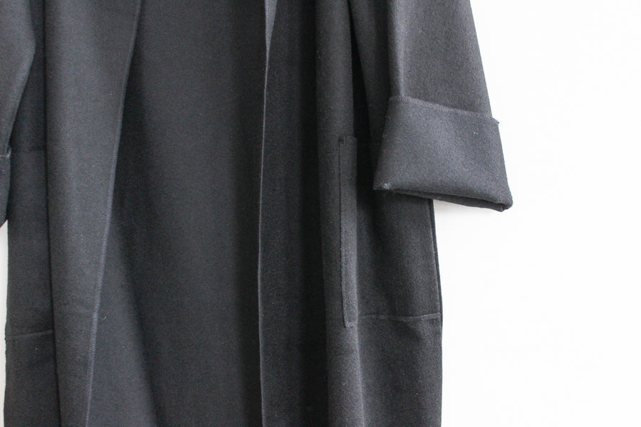 Faux Cashmere Coat
