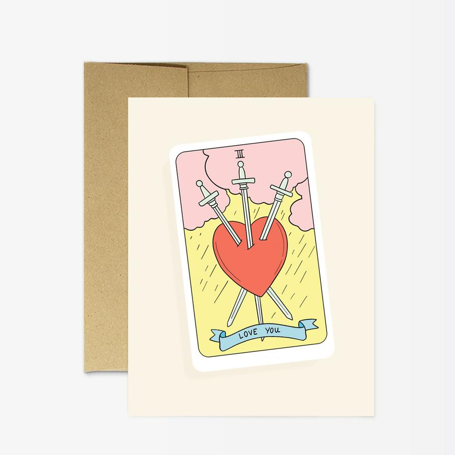 Tarot Love You Card