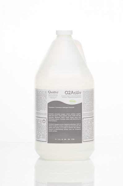 Qwatro O2Activ Hydrogen Peroxide Cleaner