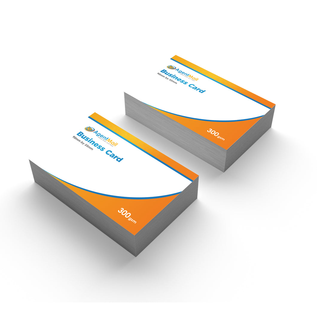 Business Cards Custom Size