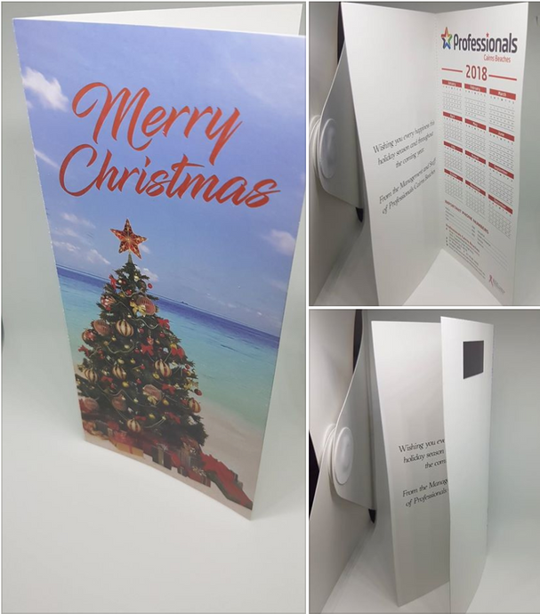 Christmas Cards with Calendar
