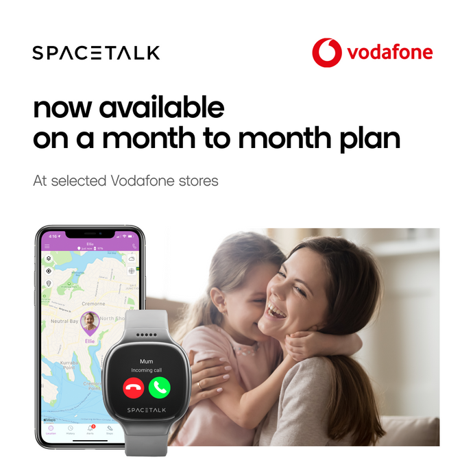 SPACETALK available with Vodafone
