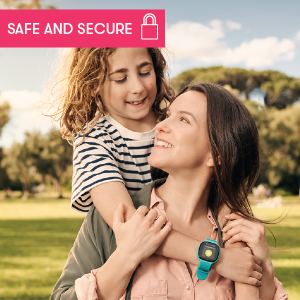 Your family's privacy - safe and secure with SPACETALK