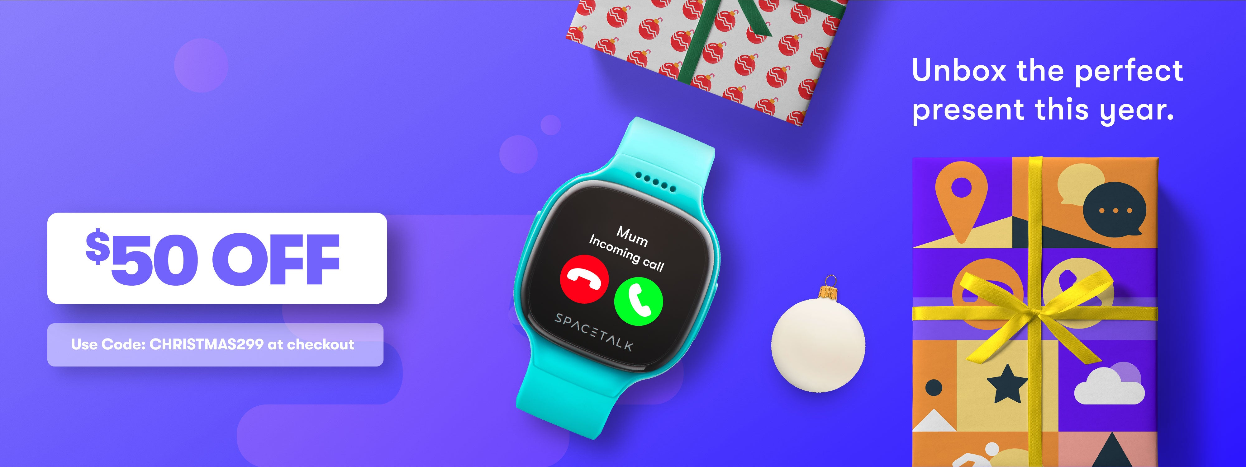 SPACETALK Sale On Now - $50 off! Smart Watch, Phone & GPS device