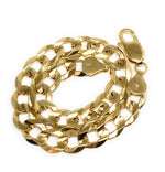 14k Solid Gold Yellow Cuban Link Brracelet 8 inch 8mm Width
