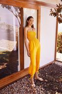 Tansy Jumpsuit - Marigold