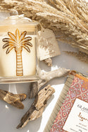 Glasshouse x Tigerlily Del Este Candle - Sea Salt and Caramel