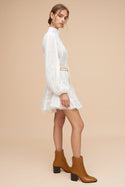 Hanae Mini Dress - Ivory
