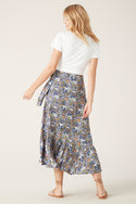 Dalia Wrap Skirt - Multi