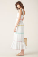 Namita Maxi Dress - White