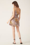 Talor Mini Dress - Leopard